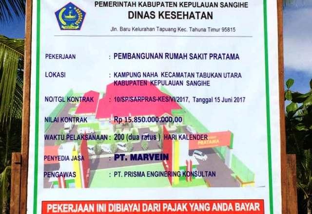 RS Pratama Siap Berdiri Megah di Kepulauan Kabupaten Sangihe