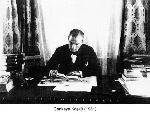 Atatürk Çankaya Köşkü 1931 Fotoğraf