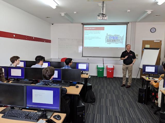 The Piggott School visit Firebrand Training