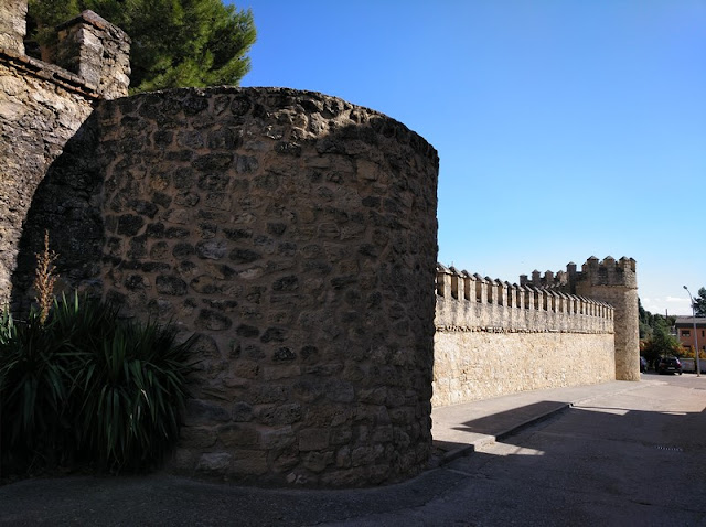 Paño de muralla en Peñaranda de Duero