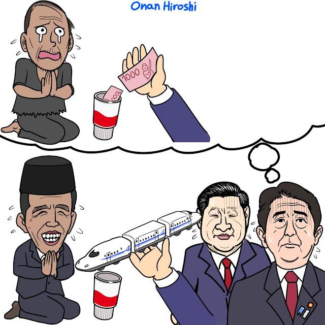 Komikus Jepang hina Presiden Jokowi