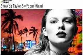 Cadastrar Promoção Mix FM 2018 Viagem Miami EUA Assistir Show Taylo Swift