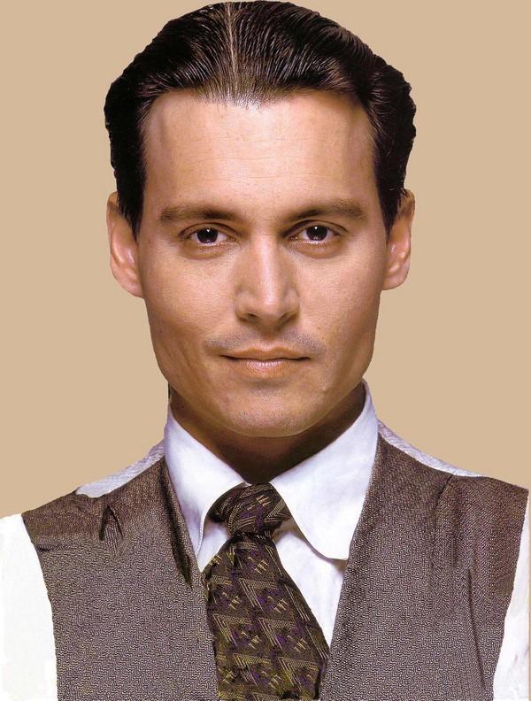 Admirable Nadud Le Short Hair Johnny Depp Hairstyle Short Hairstyles Gunalazisus