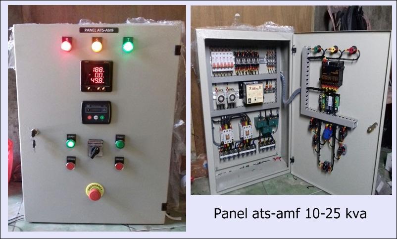 Harga Panel Ats Amf 10-20 Kva
