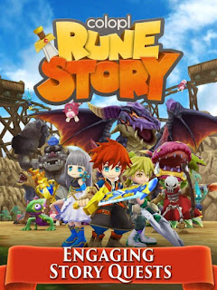 Colopl Rune Story Apk Mod 1.0.28.2 Free Download For Android Offline