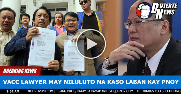 IN VIDEO: VACC Handa Na Ang Kasong Isasampa kay Noynoy Aquino