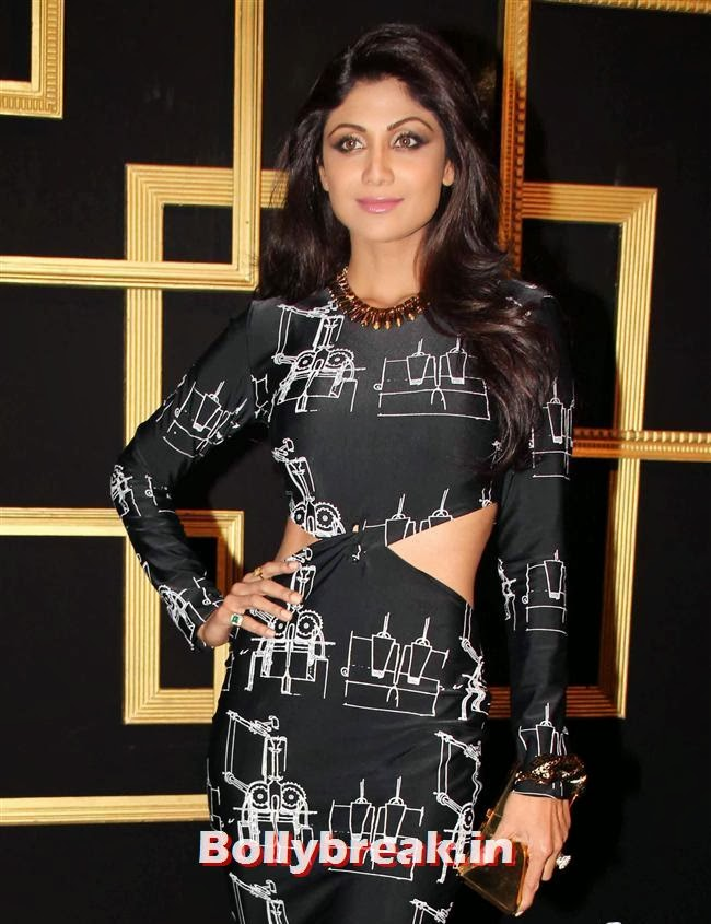 Shilpa Shetty, All Bollywood Celebs at Deepika Padukone Golden Party