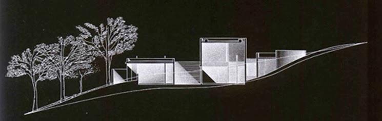 Skyline Arquitectura La Casa Koshino 1980 Tadao Ando