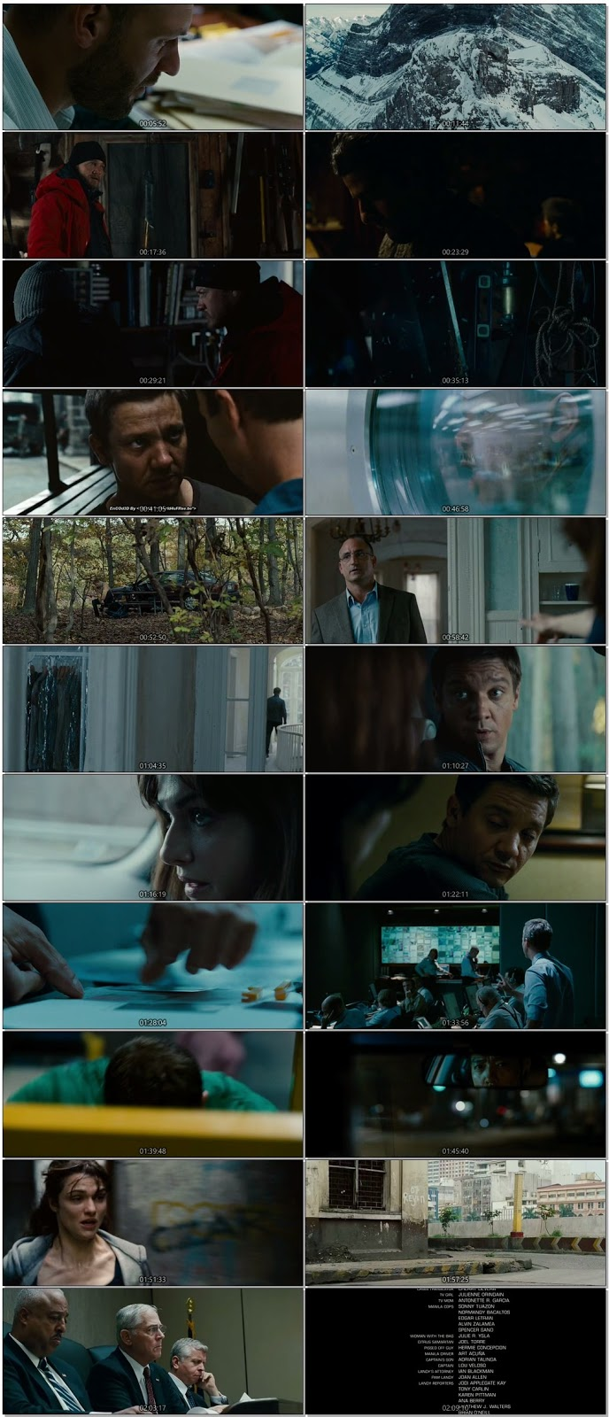 The Bourne Legacy 2012 Dual Audio