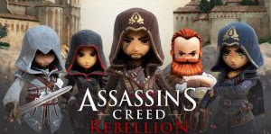 ASSASSIN'S CREED REBELLION HACK MOD APK + DATA OBB PREMIUM V1.0.0 TERBARU FOR ANDROID