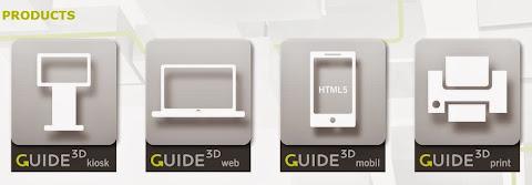 圖說: 3D-Berlin 產品線,支援多種數位螢幕輸出,包含紙本列印。圖片來源: 網頁截圖