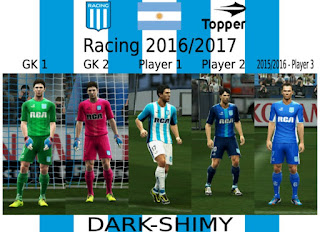 kit Racing Club 2016-2017 Pes 2013 By Dark-Shimy