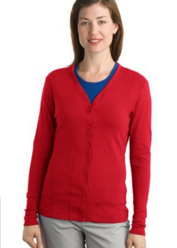 Port Authority L515 Ladies Modern Stretch Cotton Cardigan