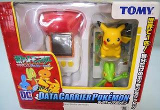 Pikachu & Treecko Tomy Data Carrier Pokemon Figure Set