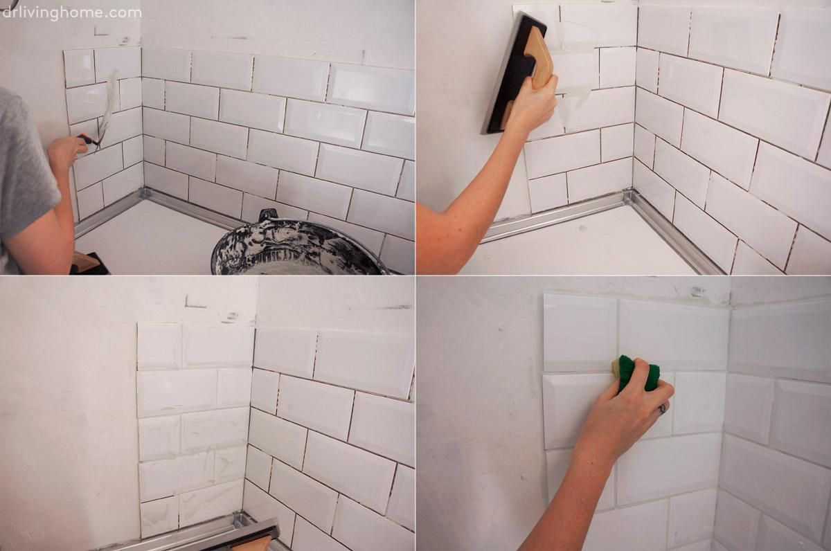 Renovar la cocina sin obras iii c mo alicatar sobre - Como blanquear las juntas de los azulejos ...