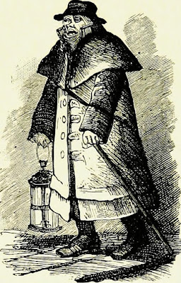 A watchman from Fifty Years Ago by W Besant (1888)