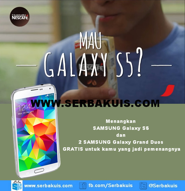 Kontes Video Dancing Light and Run Berhadiah SAMSUNG Galaxy S5