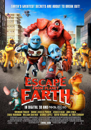 Escape from Planet Earth 2013 Dual Audio BRRip 720p Download