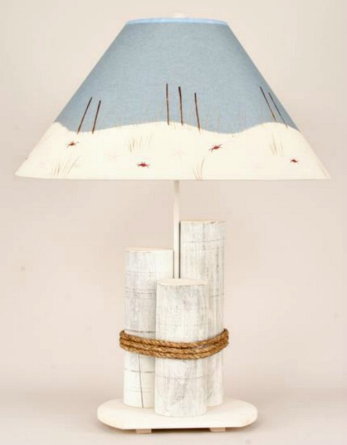 Nautical Pilings Lamp