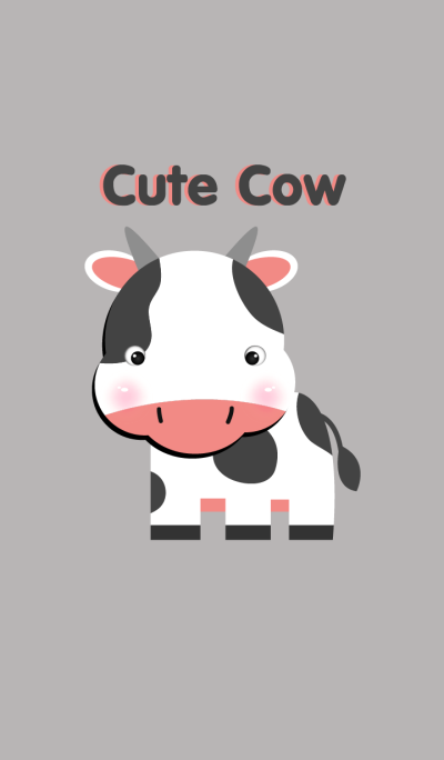 Simple Cute cow
