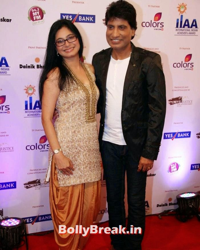 Raju Srivastav, International Indian Achiever's Awards Photo Gallery