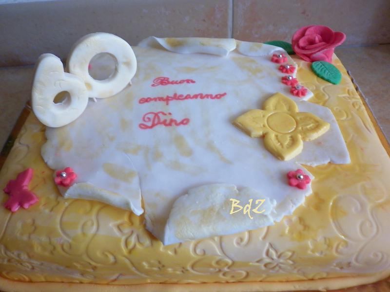 Preferenza Torta pergamena in pasta di zuccheroBaci di zucchero – Dolci Ricette QX96