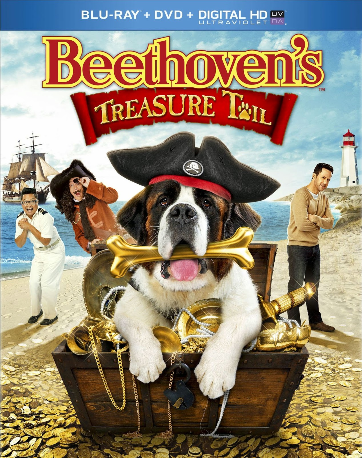 Baixar Filme Beethoven e o Tesouro Secreto Dublado Torrent
