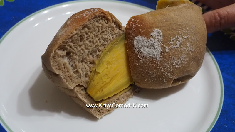 Sweet Potato with Muscovado Bread DIY recipe 蕃薯(地瓜)黑糖軟包 自家烘焙食譜