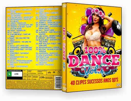 CAPA DVD – 100% Dance Vol. 4 – ISO