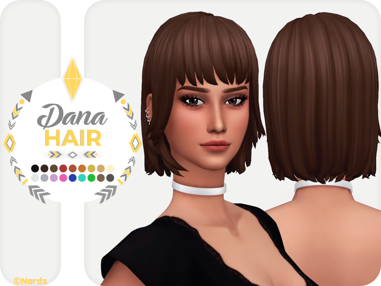 Dana A Sims 4 Cc Hair