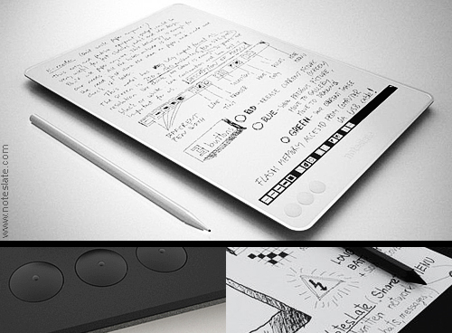Noteslate eInk tablet device