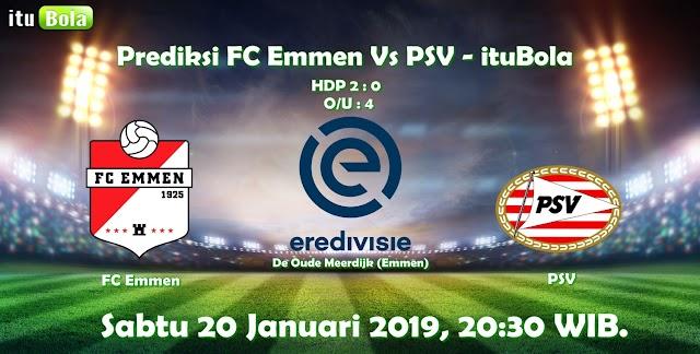 Prediksi FC Emmen Vs PSV - ituBola