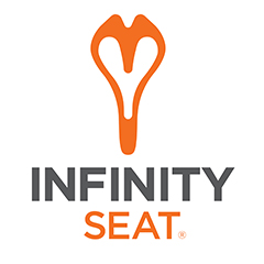 Supported by Infinity Bike Seats