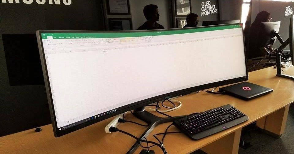 Samsung S Ultrawide Curved Display 49 Inch Which Is
