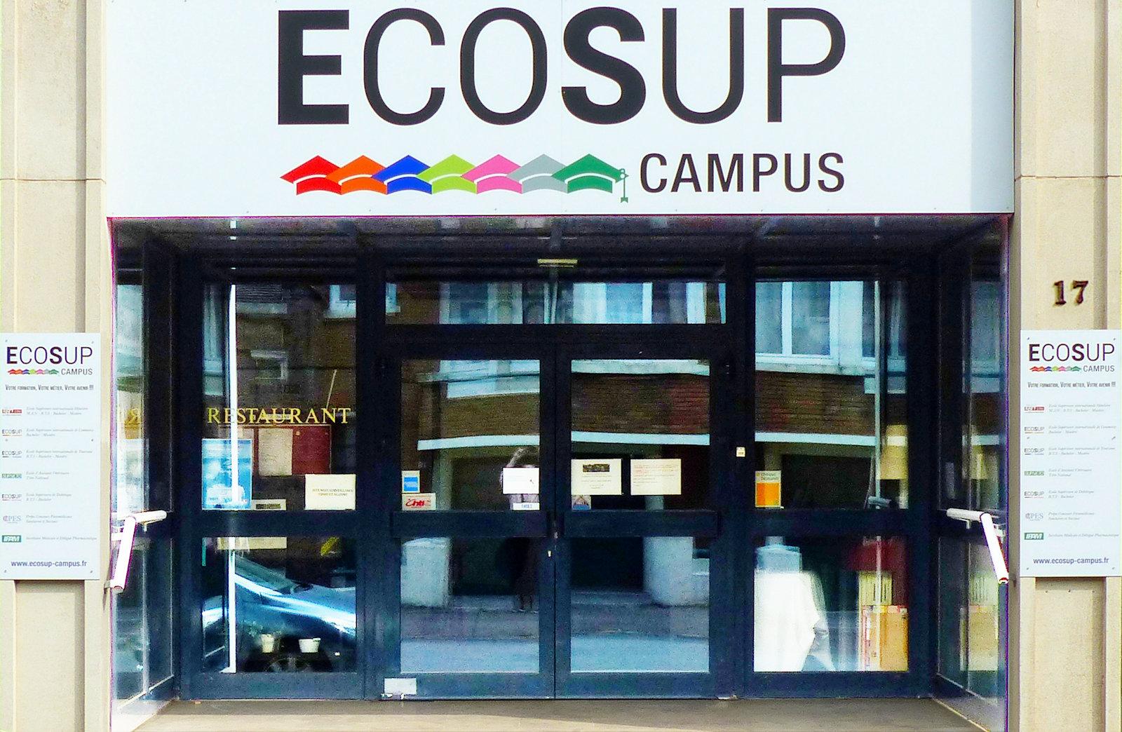 ECOSUP Campus - Entrée du Restaurant