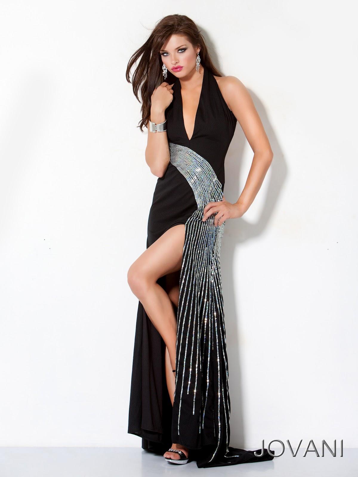 elegant black prom dresses - photo #16