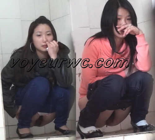 China Voyeur Shit Toilet SpyCam 16. Girl squats of the toilet to piss and pooping