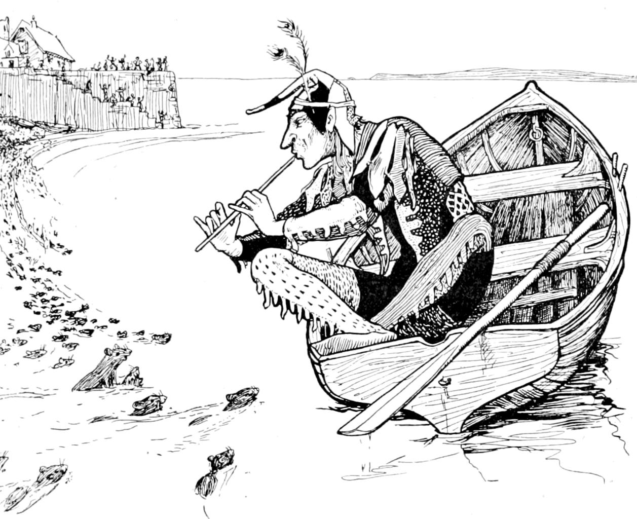 Fairy Tale Fandom: The Stuff of Legends!: The Pied Piper