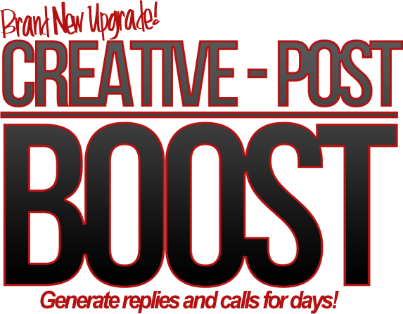 [GIVEAWAY] Creative Post: BOOST [PRIVATE RELEASE]