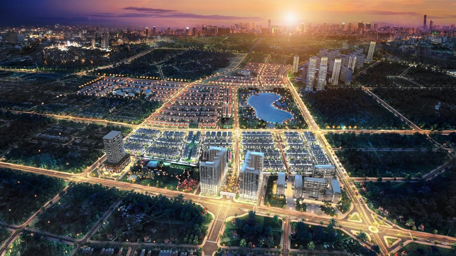 Khu đô thị Dương Nội - chủ đầu tư Nam Cường Group