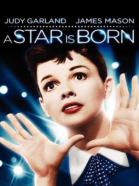 Póster película Ha nacido una estrella - 1954