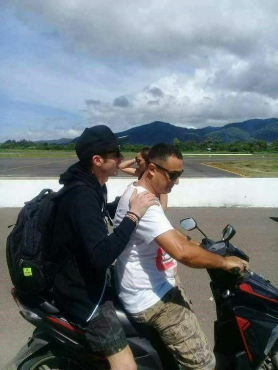 ke indonesia lagi, valentino rossi liburan ke labuan bajo