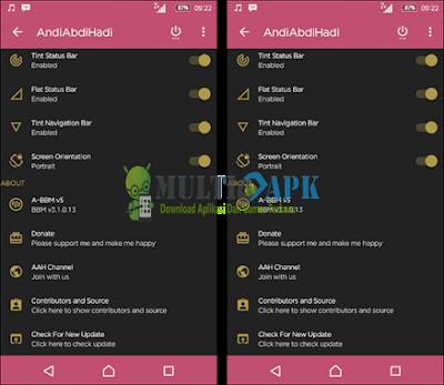 A-BBM Mod V5 Include Delta BBM v3.1.0.13 Apk Terbaru For Android