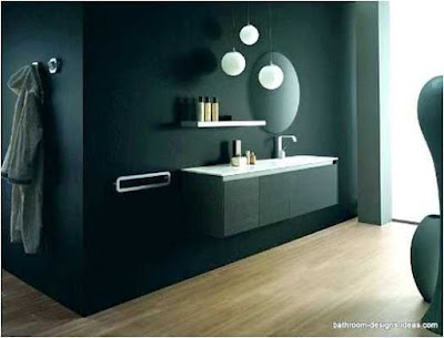 Ideas For Decorating A Black Bathroom