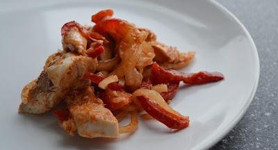 Chili-Garlic Chicken Stir Fry is Made with Chicken Breast