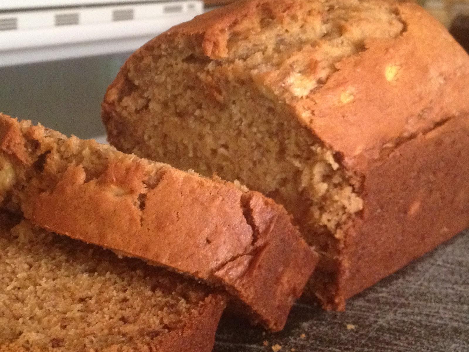 Oregon Transplant: Chocolate Avocado Quick Bread