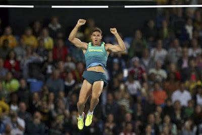 Thiago Braz conquista ouro e bate recorde olímpico no salto com vara Reuters/Gonzalo Fuentes/Direitos Reservados