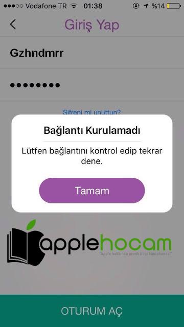 SnapChat Bağlantı Hatasının Çözümü.
