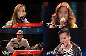 'The Voice PH' Live Shows Results: Poppert Bernadas, Ferns Tosco, Karlo Mojica and Abbey Pineda eliminated
