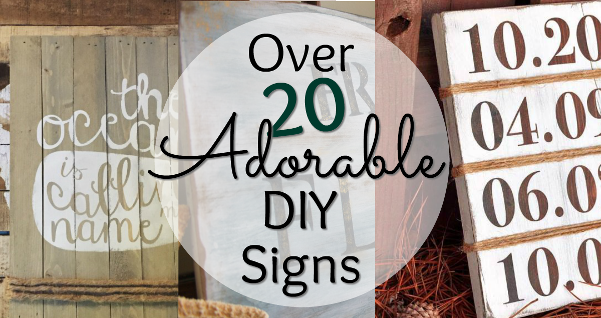 wood signs, diy signs, painted signs, diy sign tutorials, how to paint signs, how to hand letter